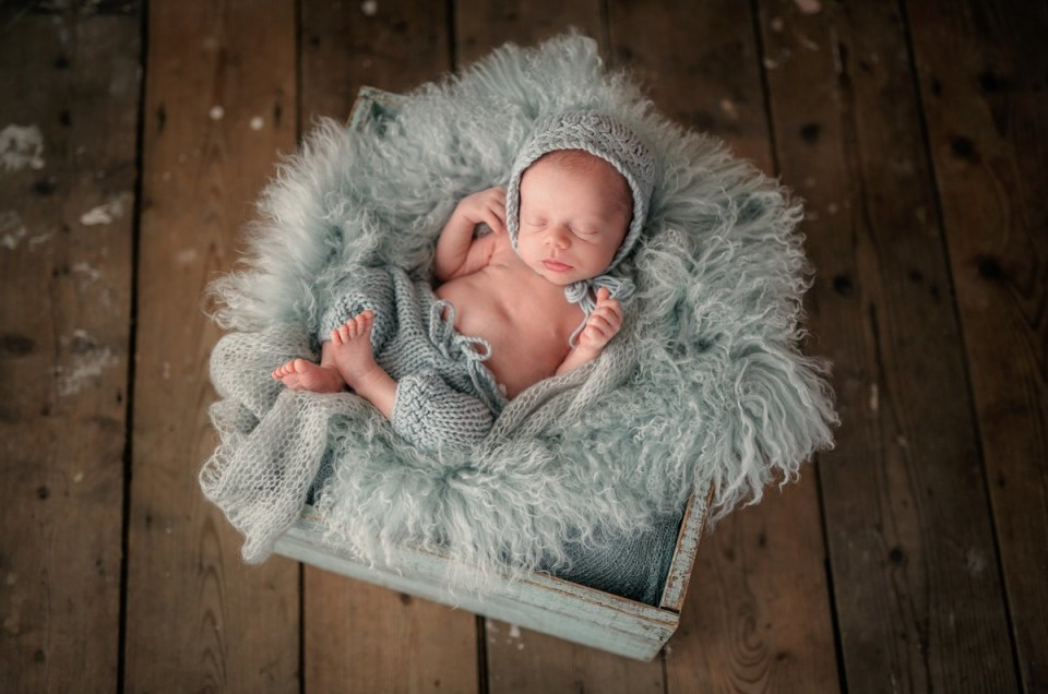 Newborn Photography Session – William, 8 days.